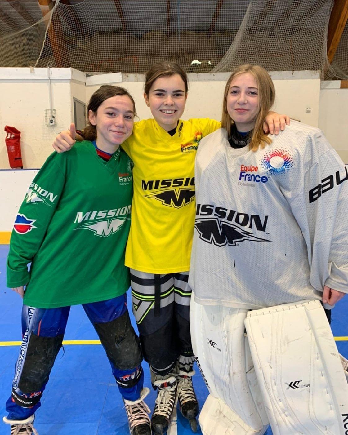 sélections filles grand Est Eq de Fce -Voiron oct 2019