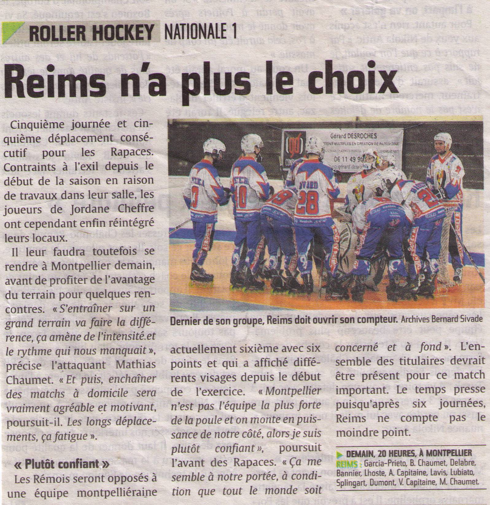 2013-11-09 - N1 MONTPELLIER vs RHR