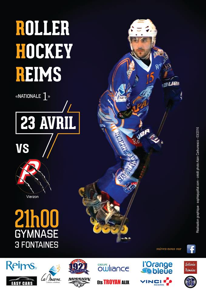 affiche play off 23 avril vierzon