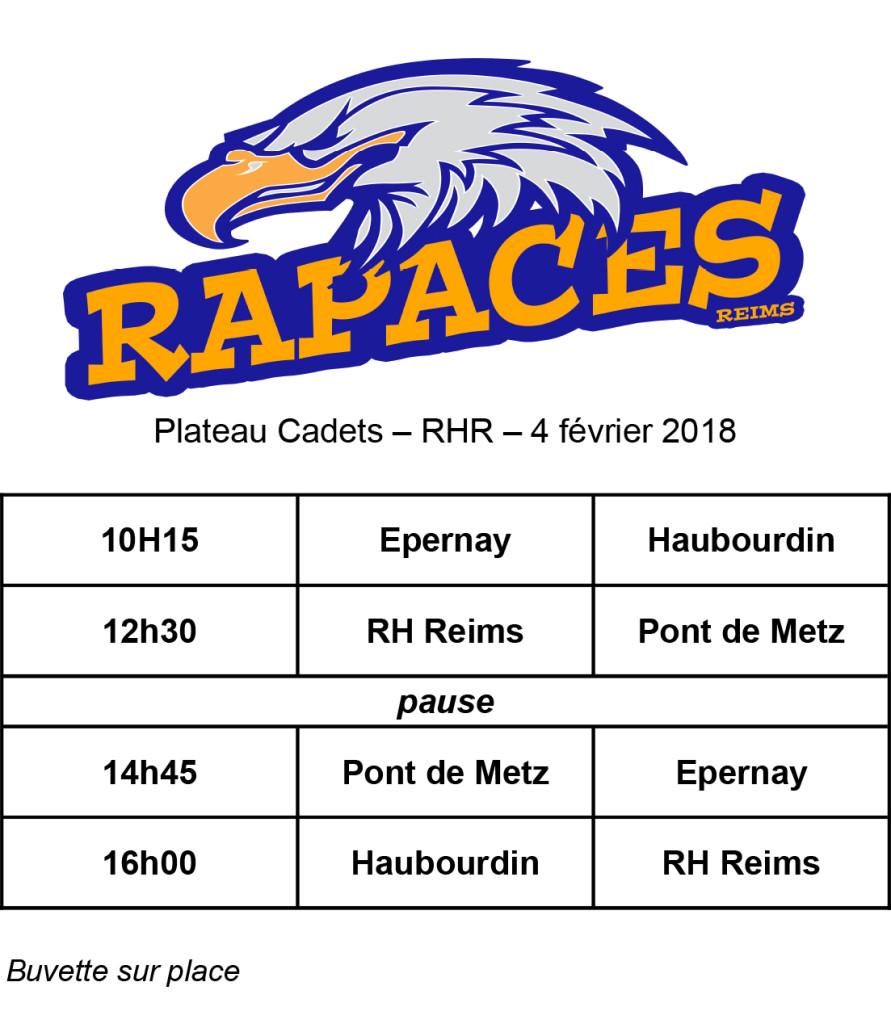 plateau Cadets 4 février 2018-RHR
