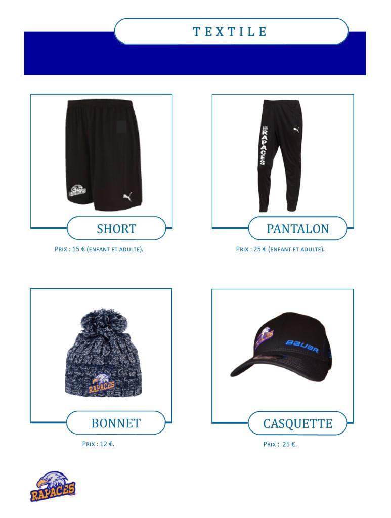 catalogue textile et accessoires 2018-2019 - 2 bis