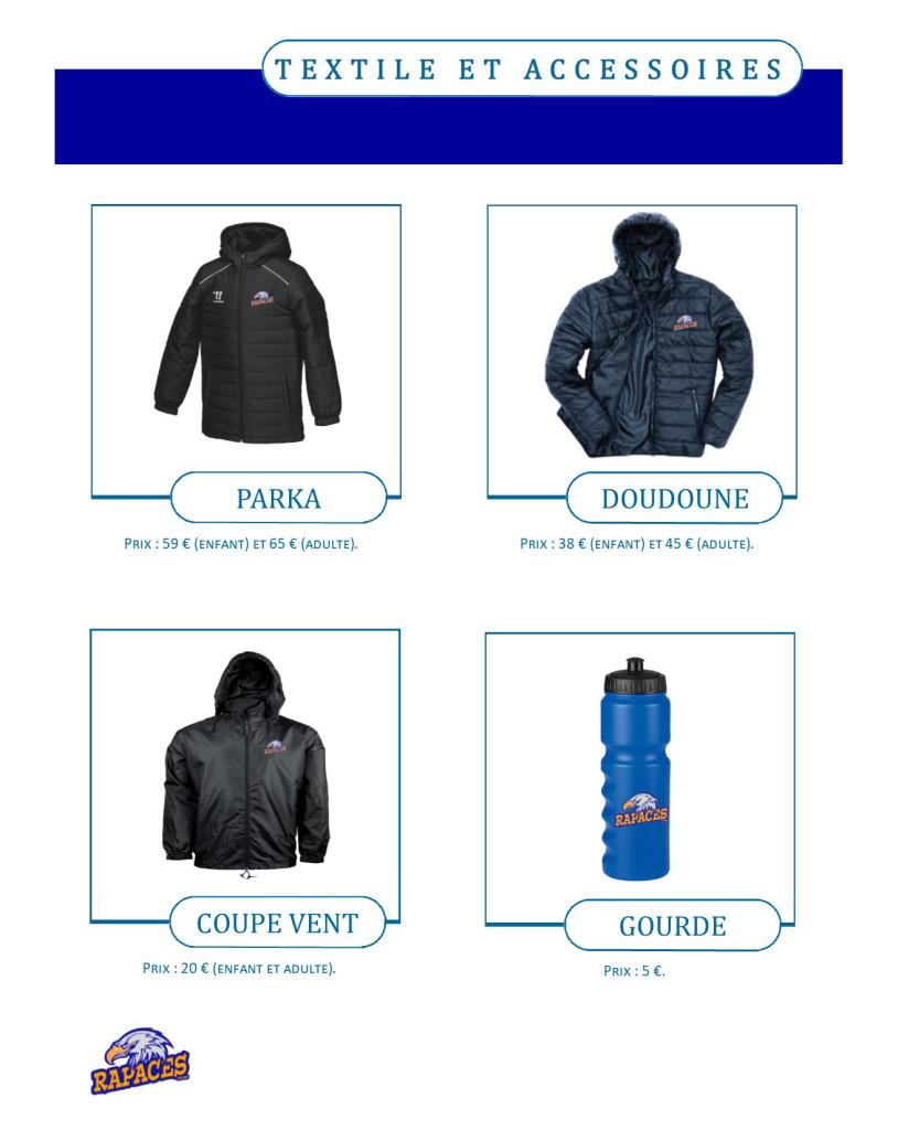 catalogue textile et accessoires 2018-2019 - 2 ter
