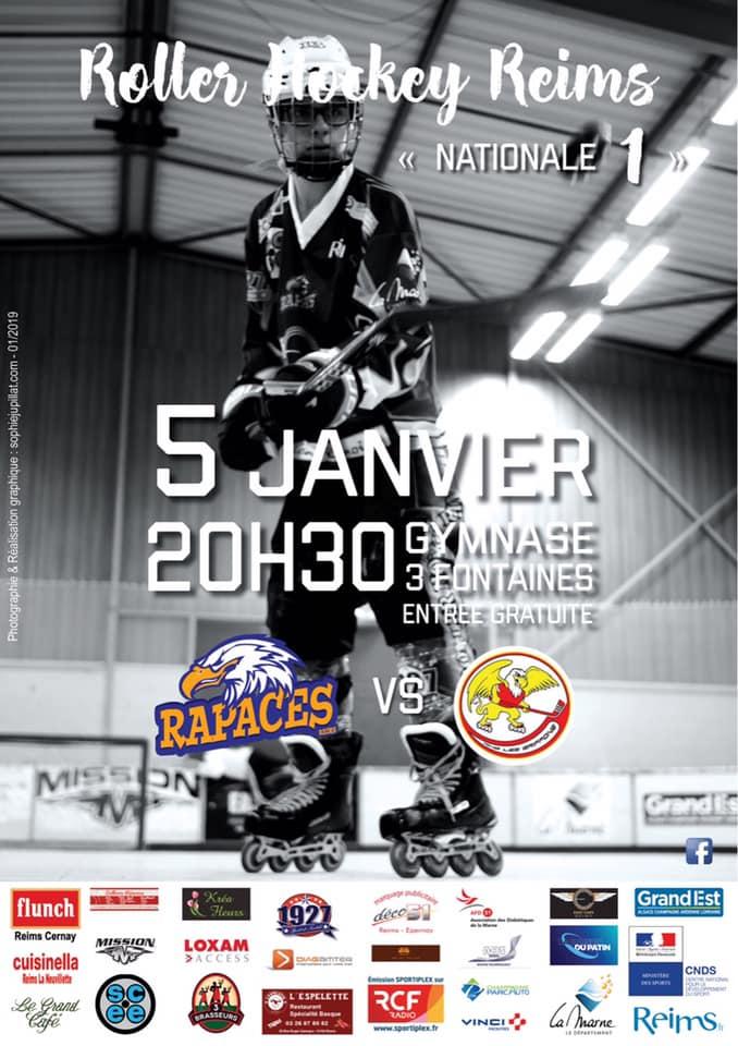 match N1- RHR vs Besançon - 5 janv 19
