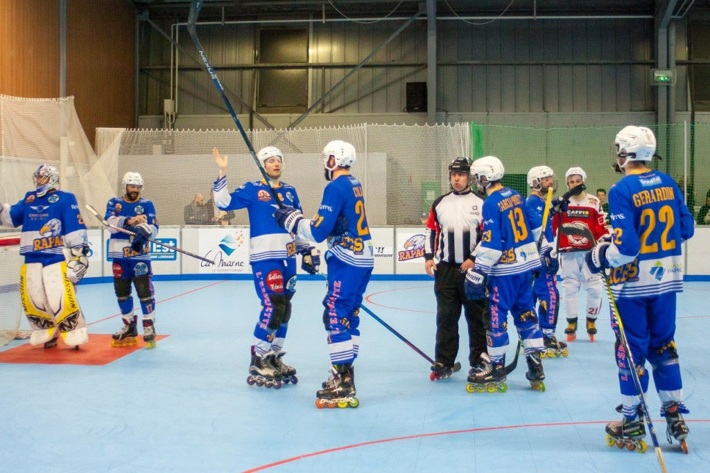 match aller 1/2 Play off vs Amiens 13 avril 2019