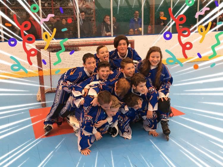 Poussins Avril 2019 Champions Gd Est
